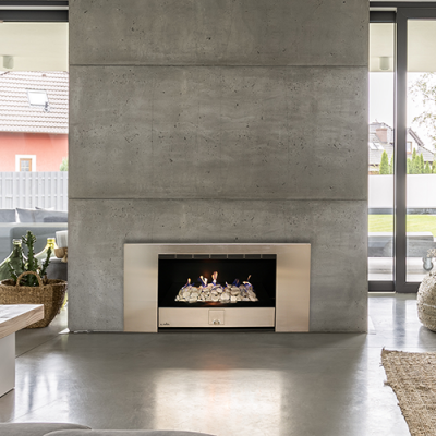 Panorama 750 – Built in Gas Fireplace