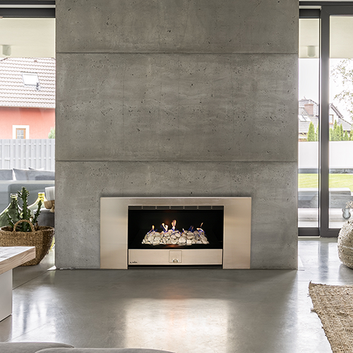 Panorama vent free gas fireplace