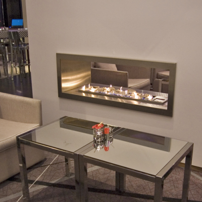 1200 Verto-Double Sided Gas Fireplace