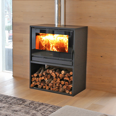 Slow combustion Stoves – FreeStanding CUBO Air