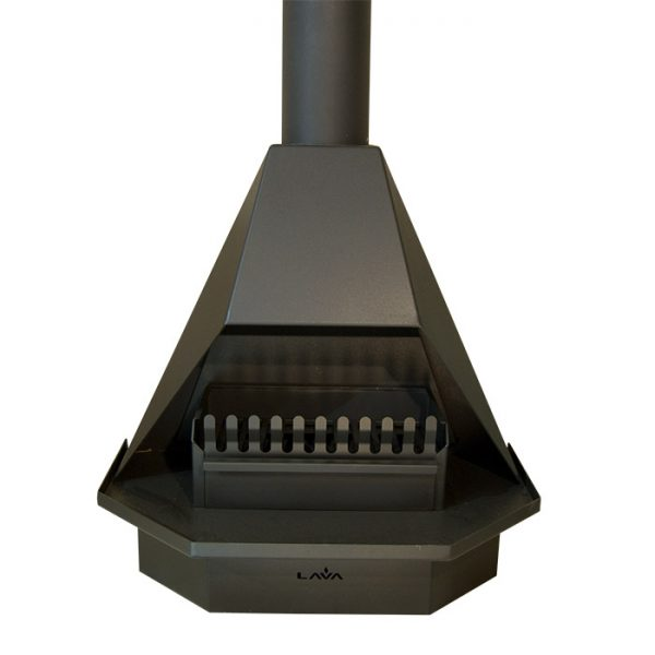 Open Fire Stove 800 Half Hex