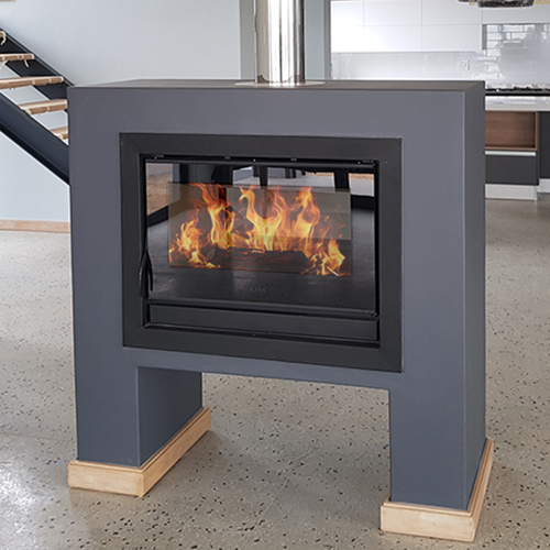700mm Double Sided Closed Combustion Fireplace