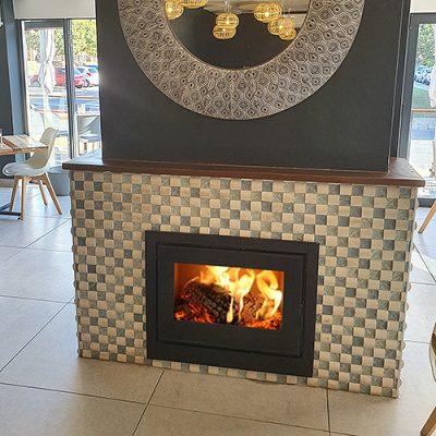 CUBO 700 Insert Fireplace (12.5kW)