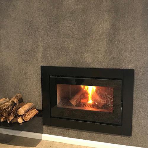 CUBO 900 Closed Combustion Insert Fireplace
