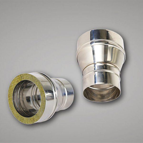 Flue adaptor ø130mm