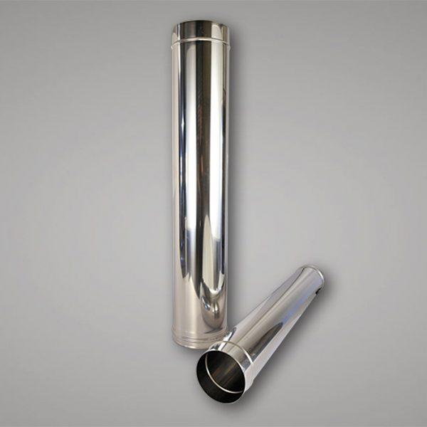 Single wall flue pipe