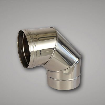 90° bend ø130mm flue