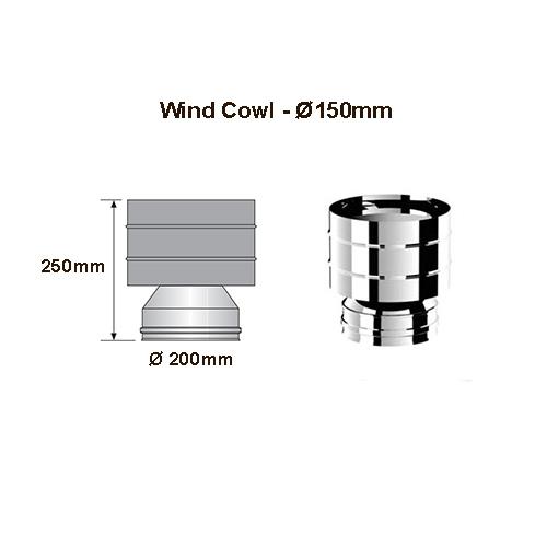 cyclone cowl 150mm